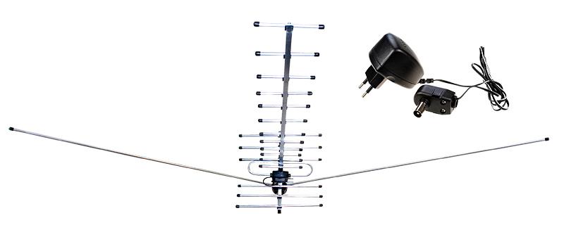Антенна для аналогового телевизора своими руками