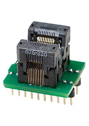 DIP20-TSOP20 ZIF адаптер