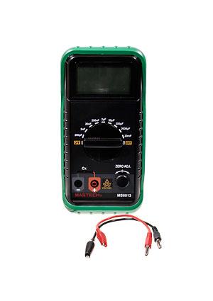 Цифровой измеритель ёмкости Mastech MY6013A позволяет измерять ёмкостные характеристики конденсаторов и участков...