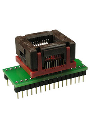 DIP32-PLCC32 ZIF-WELLS адаптер