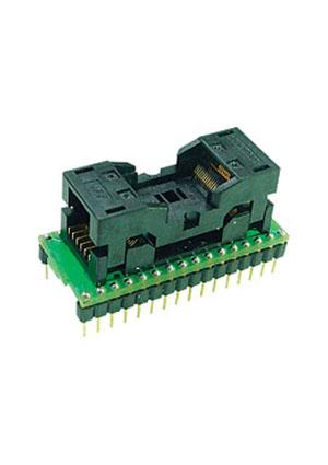 DIP40-PLCC44 PIC16 адаптер