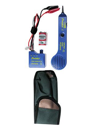 Тестер сетей с тональным генератором Этот прибор поможет найти скрытую проводку и нужную пару многожильного кабеля...