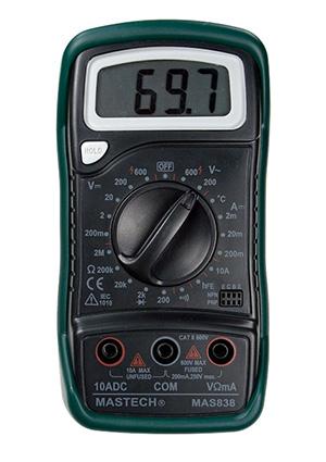 мультиметр Mas838 инструкция - фото 4