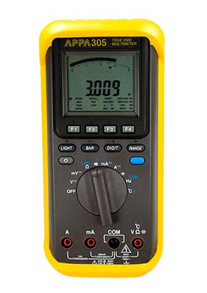 Мультиметр цифровой.  Аналог APPA 305 (RS).  Подключение к ПК - через интерфейс USB (вмеcто кабеля RS