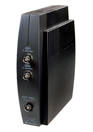 Фото - PCSU1000, Осциллограф двухканальный USB PC.